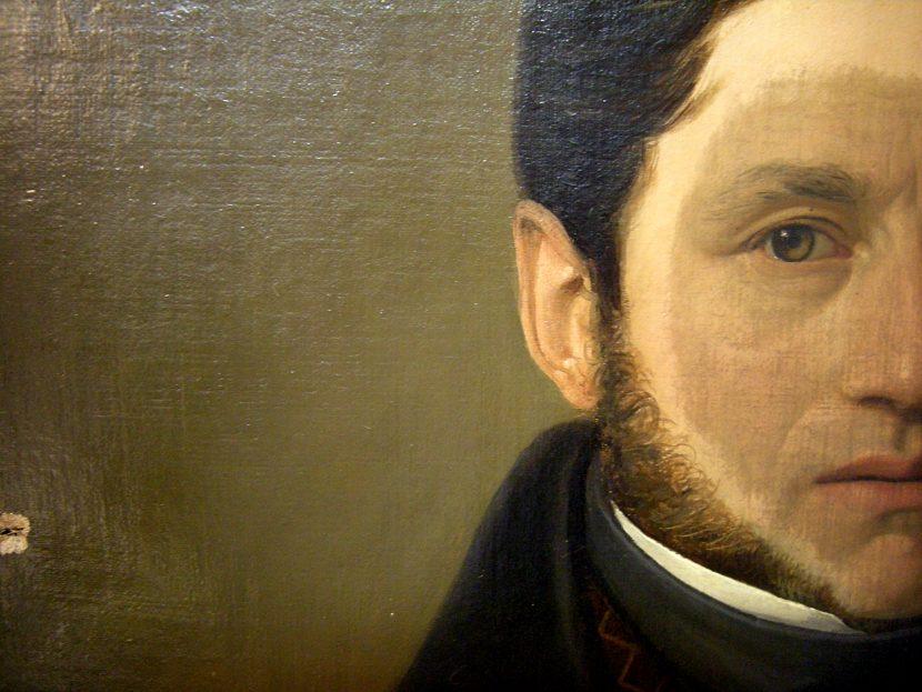 Ritratto di Giovanni Guglielmo Sartorio, 1824 ca. olio su tela, cm 71,3x57,3 legato Anna Segrè Sartorio, 1947 inv. 10/5441